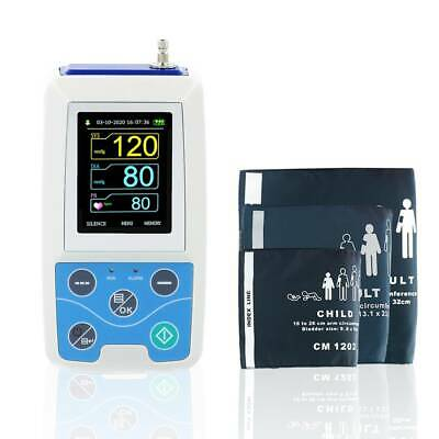 24HOUR NIBP Monitor Ambulatory Blood Pressure Monitor Holter ABPM50 usb SOFTWARE