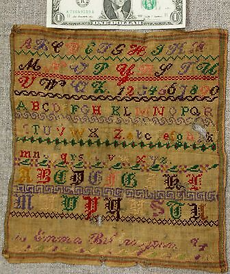 Fine early sampler in fair condition
