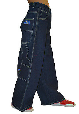 Boys Girls Boardwear Baggy Loose Fit Denim Carpenter Skate Jeans New All Sizes