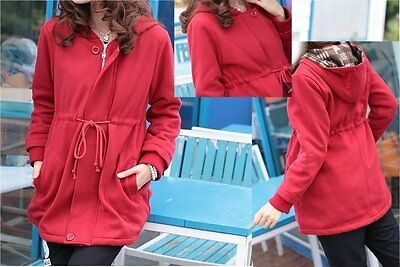 BRAND NEW Red Maternity Hoodie Sweatshirt