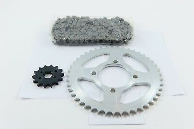 Yamaha YBR125 (2005-06) Chain and Sprocket Standard Kit