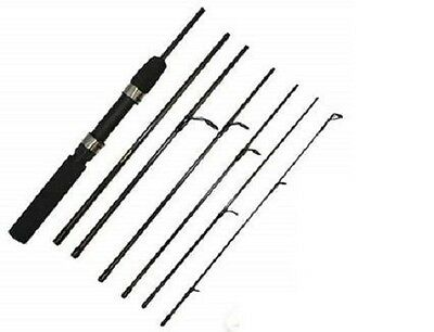 Brand New Carbon Fibre 7 Piece 6ft Travel rod Fishing