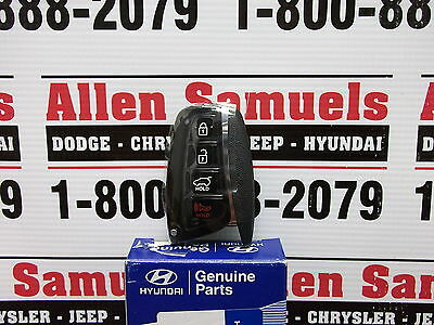 Genuine Hyundai OEM Parts Keyless Entry Remote Without Key 95440-4Z200