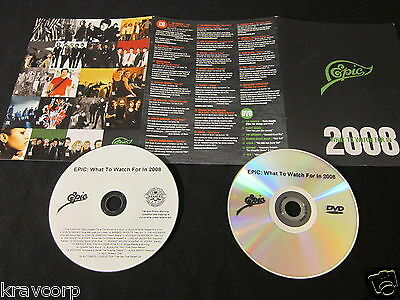 Modest Mouse/alkaline Trio/editors 'Epic 2008' Promo Cd/dvd