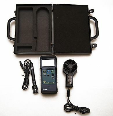 EXTECH Instruments Hydro Thermo -Anemometer in Case
