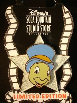 Disney Pin DSF Glitter Star Jiminy Cricket LE300
