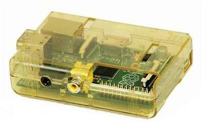 Raspberry Pi Case / RPI Case (Mellow Yellow) by SB Components