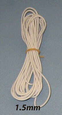 1.5mm Doll Stringing Elastic Cord x 3 metres