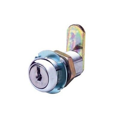 Firstlock Cam Lock NX32RKD Round 32mm 5 Disc KD Letterbox Cabinet Cupboard