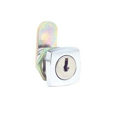Firstlock Cam Lock NX16SKD Square 16mm 5 Disc KD Letterbox Cabinet Cupboard
