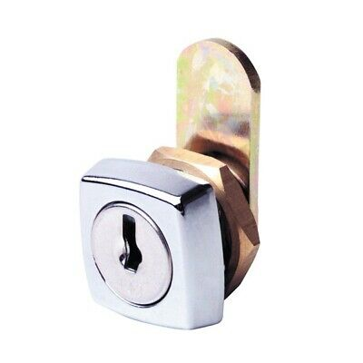Firstlock Cam Lock NX11SKD Square 11mm 5 Disc KD Letterbox Cabinet Cupboard
