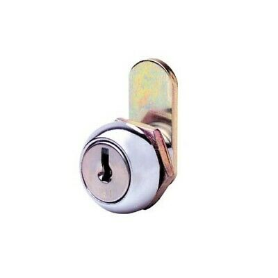 Firstlock Cam Lock NX11RKD Round 11mm 5 Disc KD Letterbox Cabinet Cupboard