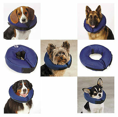 INFLATABLE DOG COLLAR - Soft Alternative to Elizabethan Collars to Protect Dogs