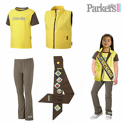Official Brownies Set Includes Gilet, Short Sleeve T Shirt, Leggings And Sash