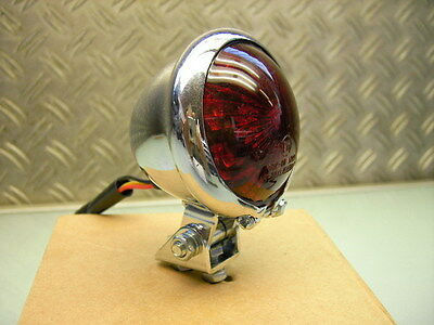 New Stop Rear Tail Light *brat Style Old School Led* Rücklicht Neu Sr 500 Xs 650