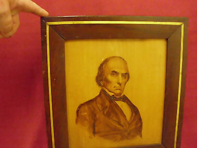 The Honorable Daniel Webster Sketch With A Poker By: B.h.