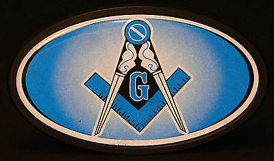 Masonic Trailer Hitch Cover, Made in the USA