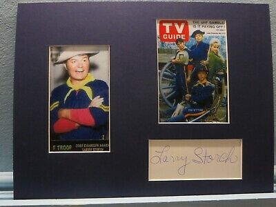 F Troop starring Forrest Tucker & Ken Berry signed by Larry Storch as Cpl. Agarn