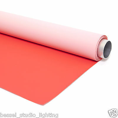 2m x 3m - 2 in 1 Dual Sided Red & Pink Photographic Background Vinyl