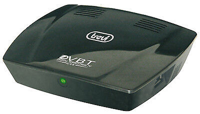 Trevi DT3350S DVBT Freeview Box with Built in MP3 Player & Image Viewer in Black