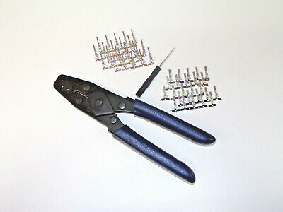 Crimper Pic Tool Kit For Oem Multi-Lock .070 Connectors On Harley + Others