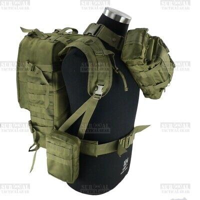 Special Operations Army Camo Backpacks Gunslinger Pack Hunting Military Rucksack