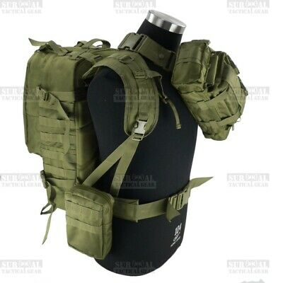 Special Operations Army Camo Backpacks Molle Hunting Bags Military Rucksack