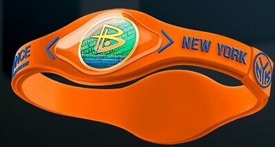 Braccialetto Power Balance-Basket Nba-New York Knicks-Porzingis-Hardaway-S/m/l