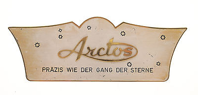 Original Arctos Aufsteller / Schild / Sign On Display  50Er Jahre