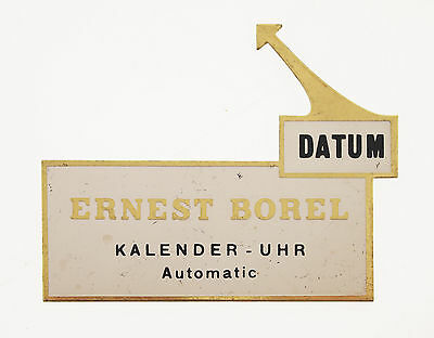 Original Ernest Borel Aufsteller /sign On Display 50/60Er Jahre Konzi -Schild