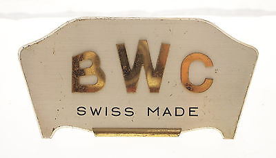 Original Bwc Aufsteller / Sign On Display Shop Display 1950Er Jahre Sehr Selten