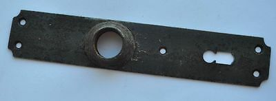 1890s Imperial Russia Antique Iron Large Size Door Key Hole Cover