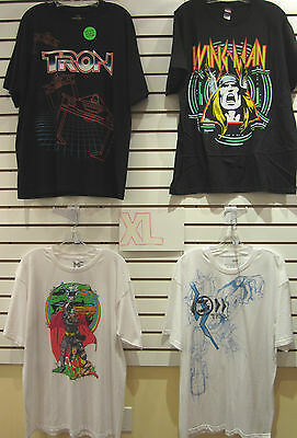 T-Shirt Lot Of 4 New Mens Extra-Large Xl Marvel Thor Asgard Sif Wingman Tron