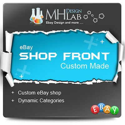 Professional Ebay Custom Shop Front Design for eBay Shop ebay Store