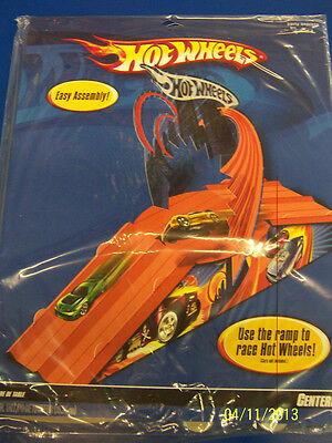 RARE Hot Wheels High Speed Race Car Kids Birthday Party Decoration Centerpiece *
