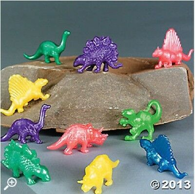 24 Pearlized Squishy Dinosaurs