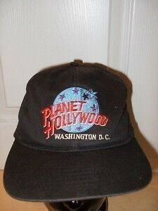 Planet Hollywood Washington Ball Cap Hat
