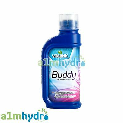Vitalink Buddy 1 Litre 1L Flowering Bloom Booster Grow Plant Buds Hydroponics