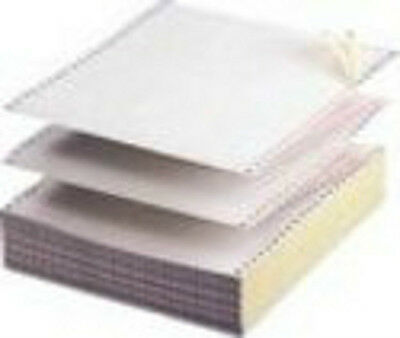 11 x 9.5 Listing Paper 1-Part Plain  60g Microperfed Box 2000 241