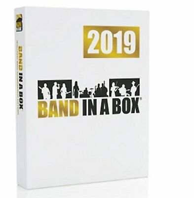 PG MUSIC BAND in a Box UltraPak Ultra Pack 2019 PC on USB Drive
