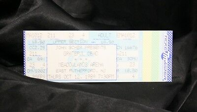 10/12/1989 Grateful Dead @ Meadowlands Arena Ticket Stub- UNUSED