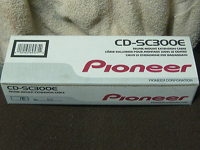 "PIONEER CD-SC300E TRUNK MOUNT EXTENSION CABLE for AVIC N SERIES UNITS 120""  NIB"