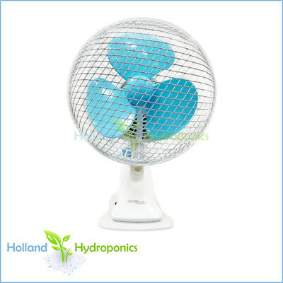 180mm Study desk Clip Fan Oscillating Grow Tent Room air circulation ventilation