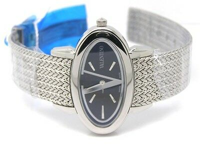 Valentino Luxury Signature Ladies Stainless Steel V50SBQ9999S099 Watch New