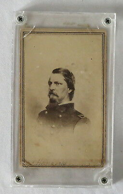 Civil War CDV of General Winfield Scott Hancock