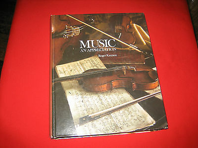 Music 1980 Text listening style periods composers biographies Roger Kamien forms