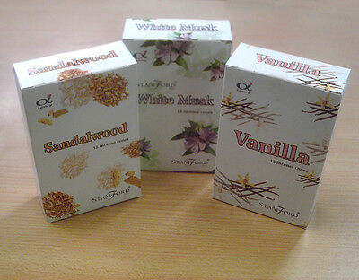 Stamford Incense Cones - Many Scents - Buy 3 Get 1 Free