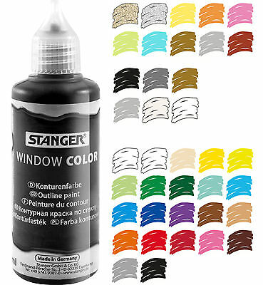 Window Color Farbe, Glasmalfarbe 80 ml - 16 Sonderfarben + Konturen - Angebot 2