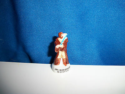 STAR WARS OBI-WAN KENOBI Mini Figurine FRENCH Porcelain FEVES Tiny Figure 2007