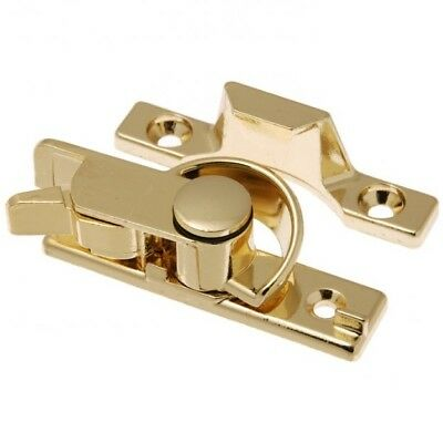 Whitco Window Safety Sash Lock W270202 Bright Gold